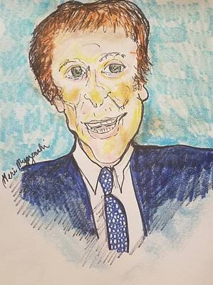 Detroit Tigers Art Drawing - Mike Ilitch by Geraldine Myszenski