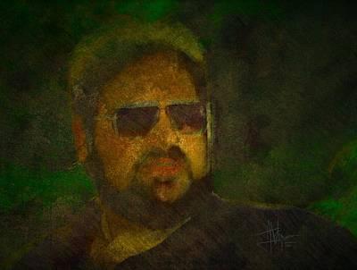 Digital Art - Mike by Jim Vance