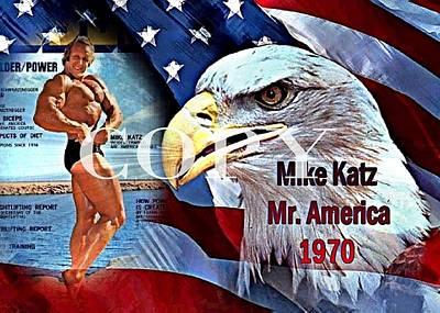 Mike Katz Mr. America 1970 Eagle Power Original