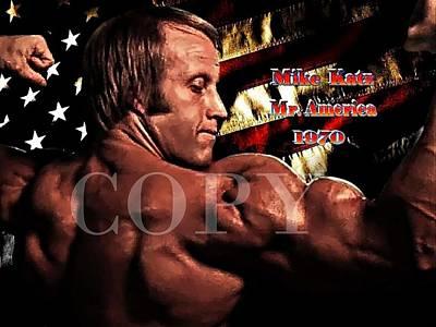Mike Katz Mr. America 1970 Original