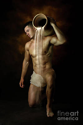 Artistic Nude Photograph - Mike  by Mark Ashkenazi