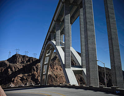 Photograph - Mike O'callahan - Pat Tillman Memorial Bridge by Paulette B Wright