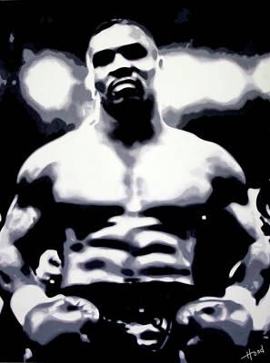 Heavyweight Painting - Mike Tyson by Hood alias Ludzska