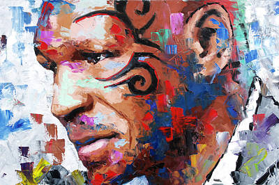 Painting - Mike Tyson II by Richard Day