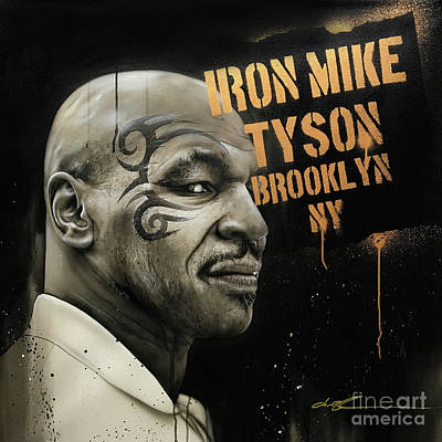 Painting - Iron Mike by Christian Chapman Art