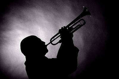 Photograph - Mike Vax Professional Trumpet Player Photographic Print 3768.02 by M K Miller