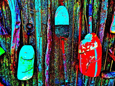 Photograph - Mike's Art Fence 191 by George Ramos