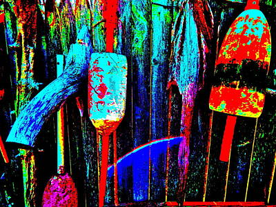 Photograph - Mike's Art Fence 199 by George Ramos