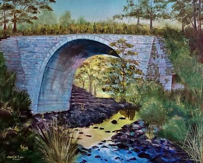 Painting - Mike's Keystone Bridge by Jamie Frier
