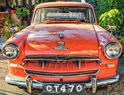 Photograph - Miki's Car by Makk Black