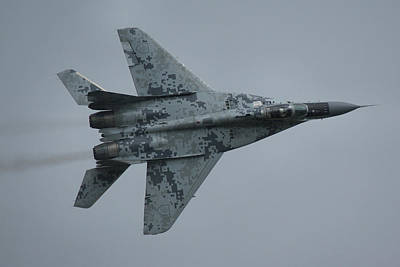Art Print featuring the photograph Mikoyan-gurevich Mig-29as  by Tim Beach