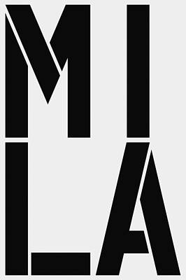 Avatar Painting - Mila by Three Dots
