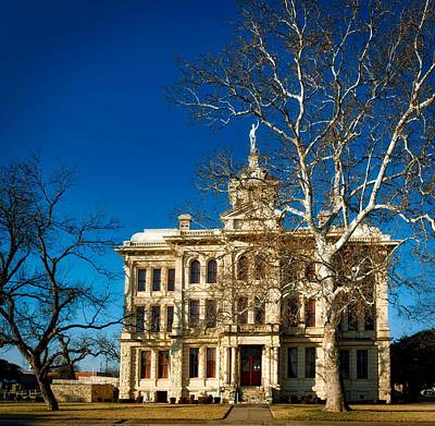 Milam County Courthouse Art Print by Mountain Dreams