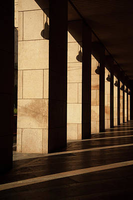Photograph - Milan Columns by Art Ferrier