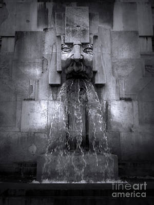 Photograph - Milan Fountain by Gregory Dyer