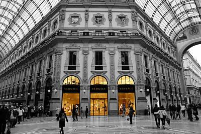 Milan Galleria 2c Art Print by Andrew Fare