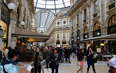 Photograph - Milan Galleria 4 by Andrew Fare