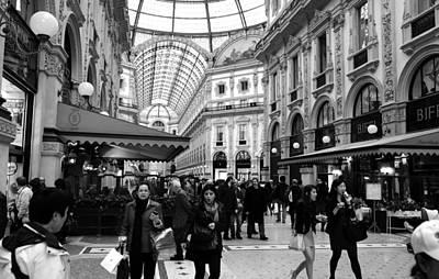 Milan Galleria 4b Art Print by Andrew Fare