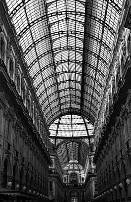 Photograph - Milan Galleria 5b by Andrew Fare