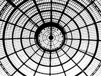 Photograph - Milan, Italy - Dome Over Piazza Mercanti by Merton Allen