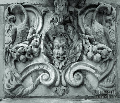Photograph - Milan Italy Satyr Head by Gregory Dyer