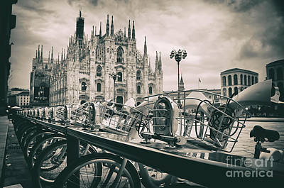 Milan Metropolitan City Art Print by Alessandro Giorgi Art Photography
