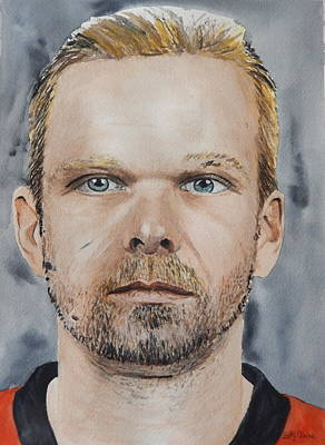 Painting - Milan Michalek by Betty-Anne McDonald