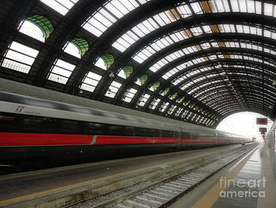 Photograph - Milan Train Station by Gregory Dyer