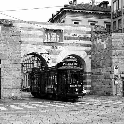 Photograph - Milan Trolley 5b by Andrew Fare