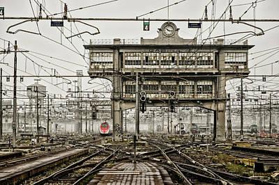 Milano Centrale 2 Art Print by Pablo Lopez