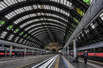 Carriage Photograph - Milano Centrale by Carol Japp