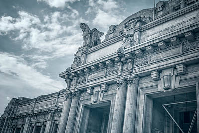 Pegasus Photograph - Milano Centrale II by Joan Carroll