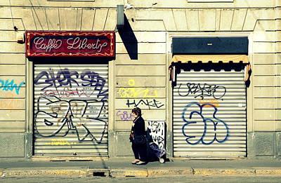 Photograph - Milano Serrata by Valentino Visentini