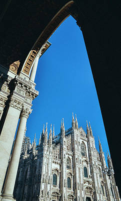 Photograph - Milan's Duomo Cathedral by Alexandre Rotenberg