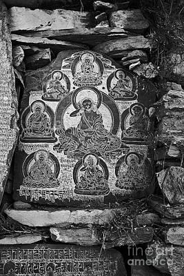 Photograph - Milarepa Mani Stone - Nupri Nepal by Craig Lovell