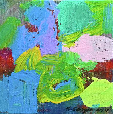 Painting - Mild Green by Mira Satryan