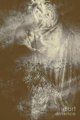 Retro Art Photograph - Mildew The Scarecrow by Jorgo Photography - Wall Art Gallery