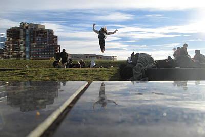 Backflip Photograph - Mile High by Andraya Jorgensen