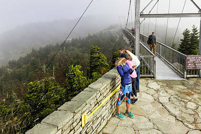 Photograph - Mile High Swinging Bridge by Fran Gallogly