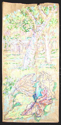 Mile Square Park Art Print by Radical Reconstruction Fine Art Featuring Nancy Wood