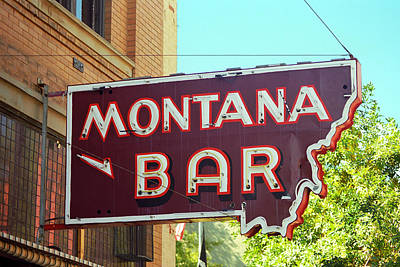 Kitchen Spices And Herbs - Miles City, Montana - Bar Sign Neon 2007 by Frank Romeo