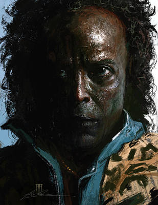 Jazz Digital Art - Miles Davis by Alex Ruiz