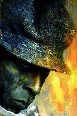 Jamming Digital Art - Miles Davis by Andrea Barbieri