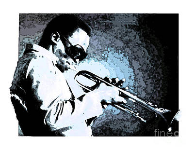 Drawing - Miles Davis by Debora Cardaci