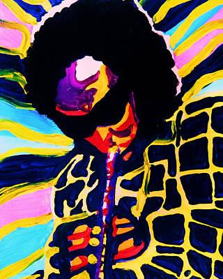 Painting - Miles Davis by Gayland Morris