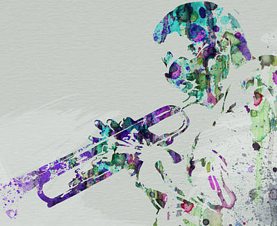 New Orleans Painting - Miles Davis by Naxart Studio