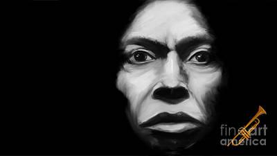 Digital Art - Miles Davis Tutu by Jan Brons