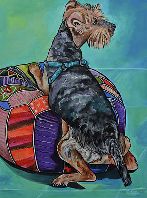 Painting - Miles by Patti Schermerhorn