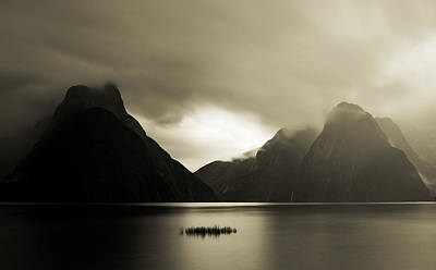 Photograph - Milford Sound 1 by Mihai Florea