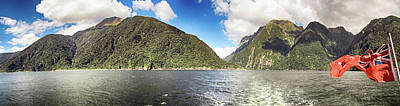Photograph - Milford Sound Nz 2 by C H Apperson